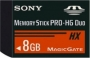 Карта памяти Sony 8Gb Memory Stick Pro Duo HG
