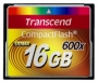 Карта памяти Transcend 16Gb Compact Flash (600X)