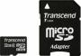 Карта памяти Transcend 32 GB microSDHC class 2 + SD Adapter
