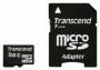 Карта памяти Transcend 8 GB microSDHC class 2 + SD Adapter