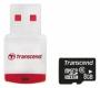 Карта памяти Transcend 8 GB microSDHC class 6 + Card Reader